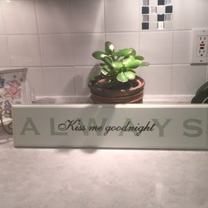 Other - Wood sign